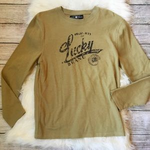 {Lucky Brand} Thermal Long Sleeve Shirt Men's